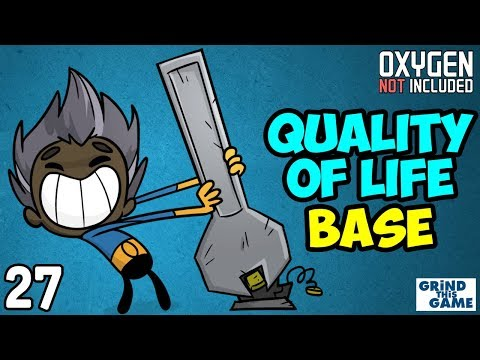 Oxygen Not Included - Quality Of Life Upgrade Base #27 (Liquid Hydrogen & Liquid Oxygen Setup) [4k]