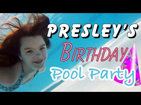 ANOTHER BEST DAY EVER! PRESLEY'S 12TH BIRTHDAY PARTY! Day 1482 | ActOutGames