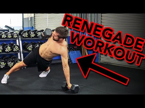 CRAZY Challenging Workout Using the Renegade Row  NOT Easy But Super Rewarding!!!