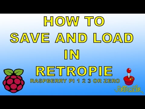 Retropie How To Save And Load Game States Raspberry Pi 1 2 3 Or Zero