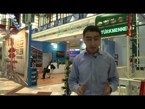 Rare look inside Turkmenistan oil and gas conference