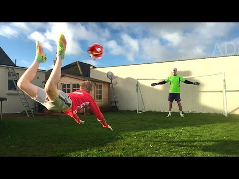 Thumbnail: SCORPION KICK FOOTBALL CHALLENGE