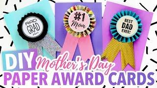 DIY Mother's Day Card ~ #1 Mom Paper Medallion - HGTV Handmade