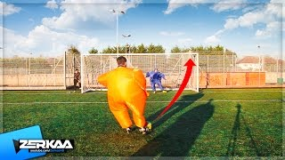 THE FATTEST FOOTBALL CHALLENGE!