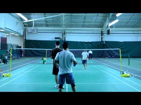 2012 Baltimore Badminton Charity Open Men's Double Div-C Final
