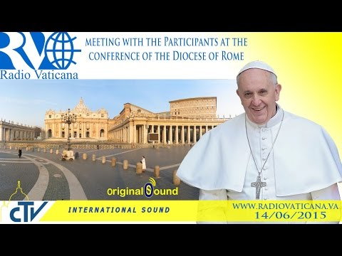 Audience for the participants to the Convention of the Diocese of Rome