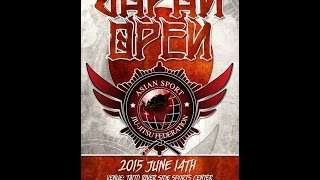 Dumau ASJJF Japan Open (Open Weight Division)  June 14th, 2015 Andy Barker