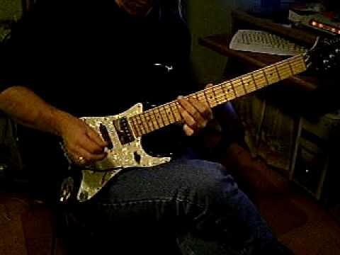Raven Heavey Metal Guitar through Snax Fx
