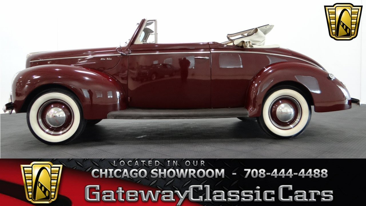 1940 ford deluxe gateway classic cars chicago 1000 youtube. Black Bedroom Furniture Sets. Home Design Ideas