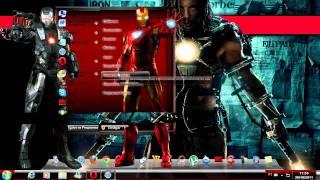 Tema Iron Man 2 para Windows 7 + agradecimento aos 200 inscritos.