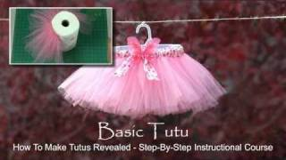 How To Make A Tutu With No Sewing