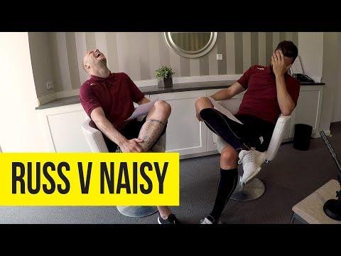 Quickfire Questions: Russ v Naisy