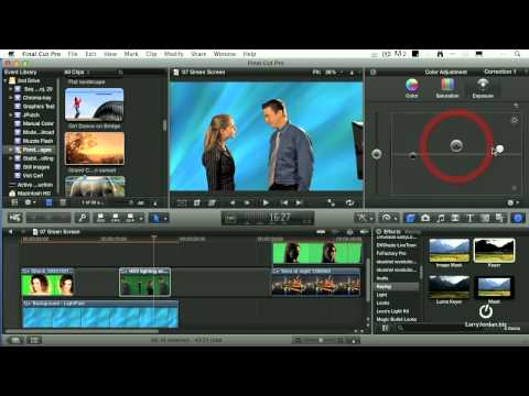 Using Chroma Key in Final Cut Pro X