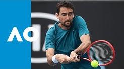Marin Cilic vs Roberto Bautista Agut - Match Highlights (3R) | Australian Open 2020