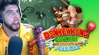 PAL' FRIO SUS MONOS HELADITOS - DKC: TROPICAL FREEZE SWITCH