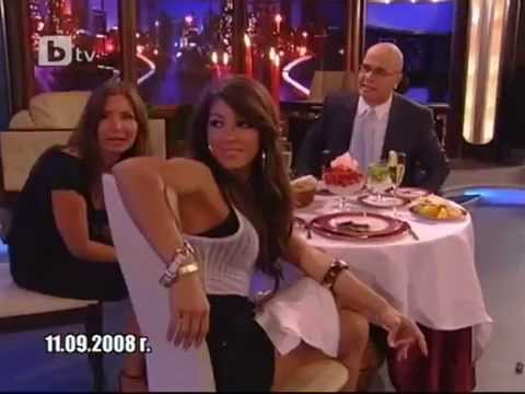 Melissa Molinaro at Slavi Show funny interview