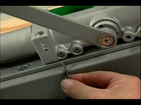 closer- how to adjust just about any door closer- Norton