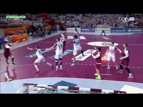 QATAR VS FRANCE FINAL Handball Championnat du monde 2015