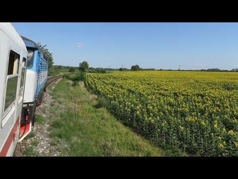 Slovakia: Unsilenced Class 749 'Grumpy' Working A RegioJet Bratislava To Komarno Passenger Service