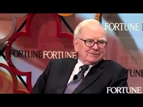 Warren Buffett 1 year after the crash