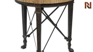 Hekman 1-1418 Chairside Table From Accents
