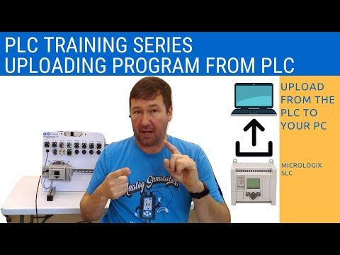 RsLogix 500 Training - Uploading from a PLC and Merging