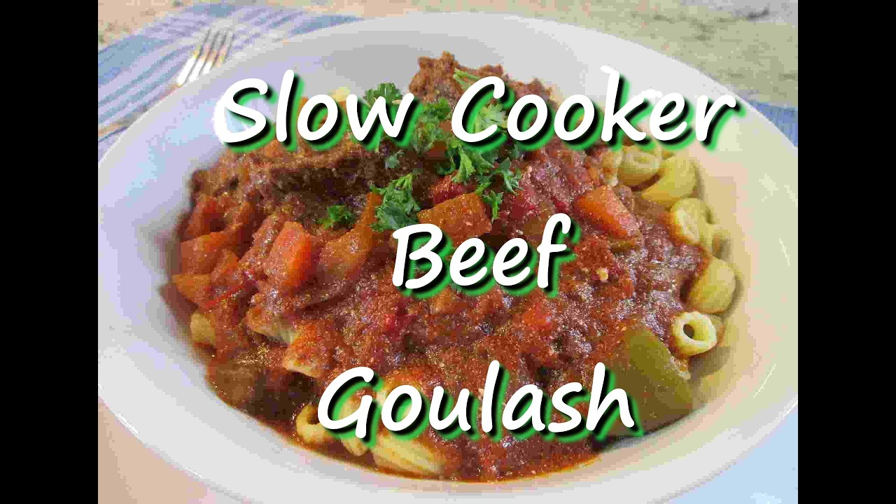Goulash Slow Cooker Jamie Oliver