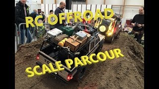 AMAZING RC SCALER & CRAWLER Parcours | (RC4WD, Axial, Vaterra, Tamiya, Gmade) HD