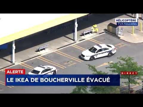 Le magasin IKEA de Boucherville évacué après des menaces   explications et entrevue