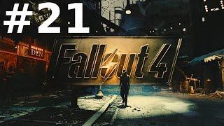 Fallout 4 Прохождение 21 - Гринтек Дженетикс и Охотник