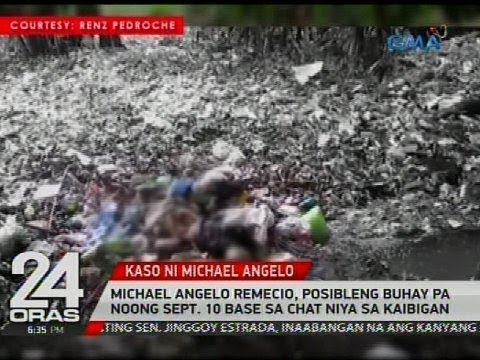 Michael Angelo Remecio, posibleng buhay pa noong Sept. 10 base sa chat niya sa kaibigan