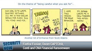The Dark Escrow - Firefox Fission, Doom CAPTCHA, Conti and CNA Financial Ransomware
