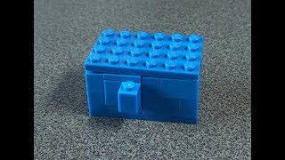 як зробити з лего простий сейф