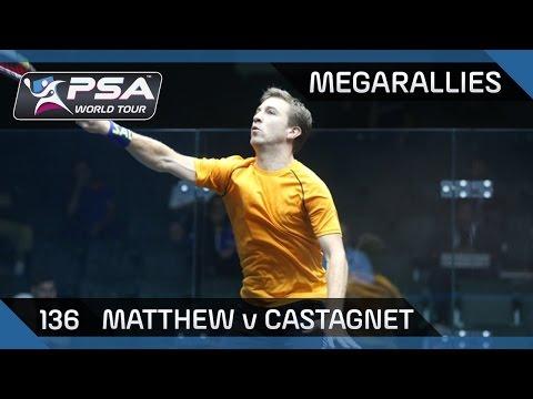 Squash: MegaRallies Ep.136: Matthew v Castagnet - British Grand Prix 2014