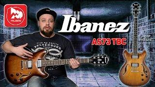 IBANEZ AS73 - полуакустическая гитара