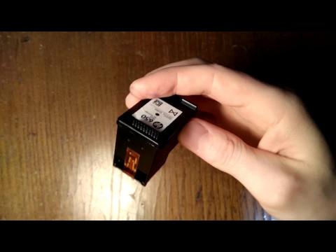 Обнуление расчиповка картриджей HP 650 принтер HP Deskjet 2640 series