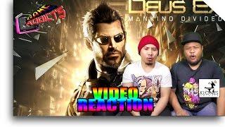 Deus Ex Mankind Divided (2016) - Adam Jensen 2.0 Trailer Reaction (Game Addicts)