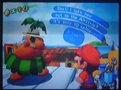 """Super Mario Sunshine Bloopers: End of """"Vacation 2015-2016"""""""