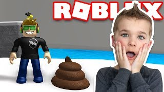 WHO POOPED ON THE FLOOR?!!! / ROBLOX FART ATTACK