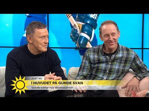 Gunde följde i Salmings hockeyfotspår: 'Det var ståpäls' - Nyhetsmorgon (TV4)