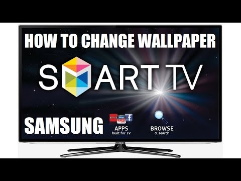 How To Change Wallpaper To Dark In Your Samsung Smart Tv Youtube