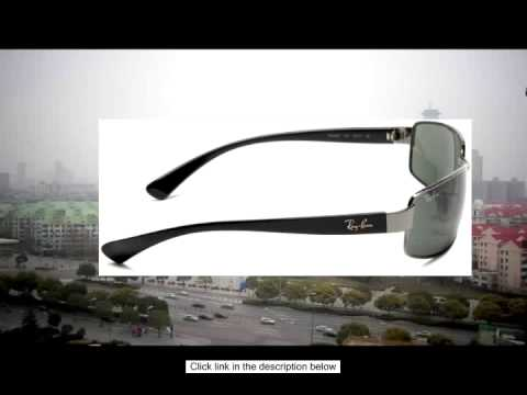 ccb280c0aa8 Ray-Ban RB3364 Gunmetal Sunglasses - YouTube