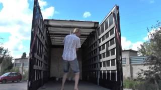ГАЗон NEXT растентовки: сдвижная крыша и боковая штора