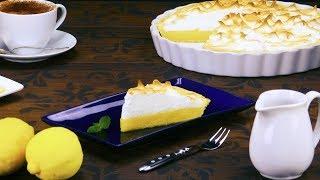 Saftiger Zitronen Kuchen mit Baiser - ein fruchtiges Rezept für frischen Zitronenkuchen