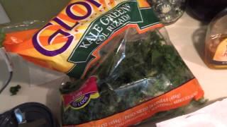 """hustlers Goodmorning"" Green Smoothie Recipe/2014 Nutribullet Review Part 1"