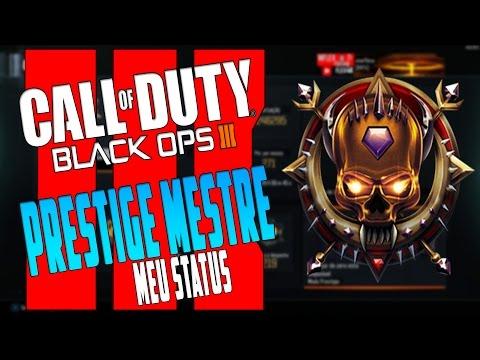 BO3 - Prestige Mestre (Meus Status) Rumo Level 1000