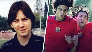 When a young Messi made a teammate flip out in training | Oh My Goal