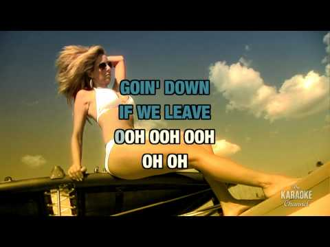 """Run It! in the style of """"Chris Brown"""" karaoke video with lyrics (no lead vocal)"""