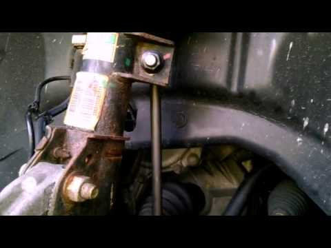2007 Pontiac Torrent Sway Bar Link Replacement - YouTube