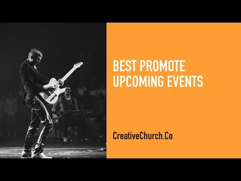 Best Way to Promote Events on Social Media for Church
